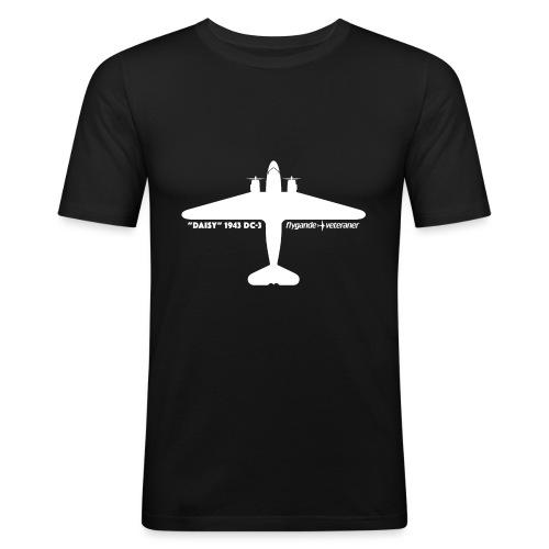 Daisy Silhouette Top 2 - Slim Fit T-shirt herr