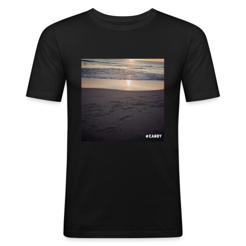 Wschód Słońca - Obcisła koszulka męska