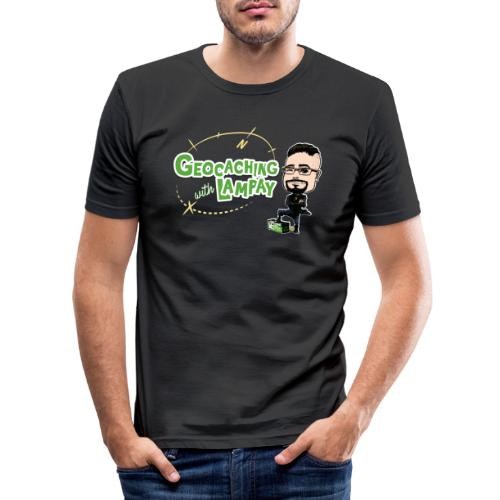 Geocaching With Lampay - T-shirt près du corps Homme