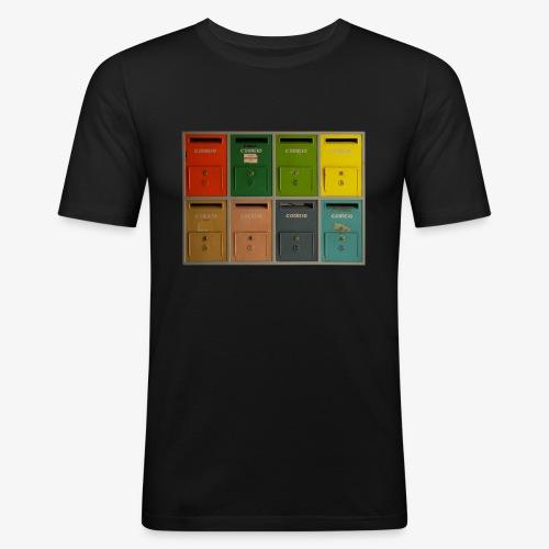 Briefkasten - Männer Slim Fit T-Shirt