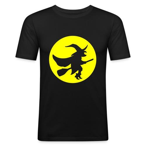 hexe_1farbig - Männer Slim Fit T-Shirt