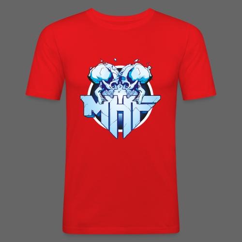 MHF New Logo - Men's Slim Fit T-Shirt