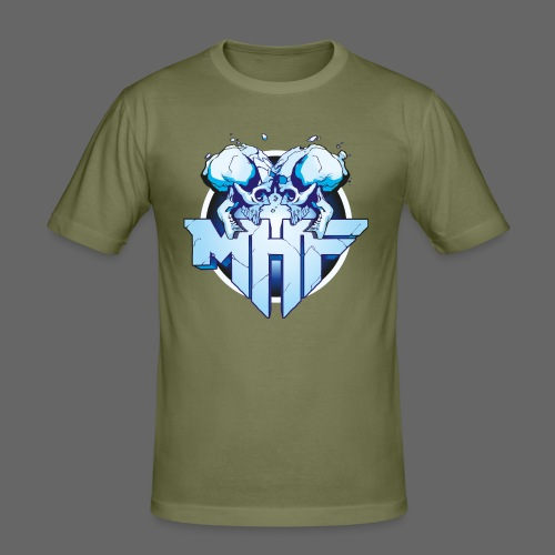 MHF New Logo - Men's Slim Fit T-Shirt