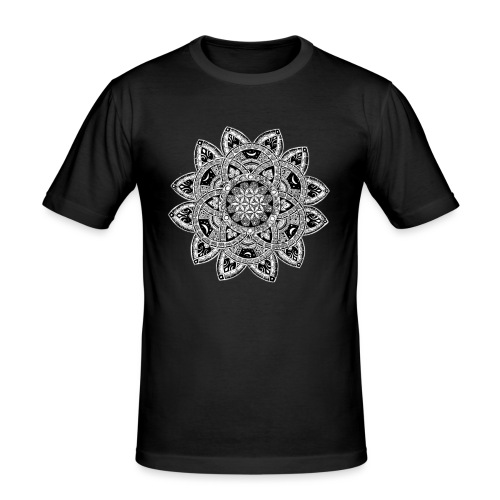 Lisaty Mandala - Men's Slim Fit T-Shirt