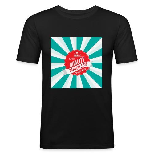 Magalluf-Badge - Men's Slim Fit T-Shirt