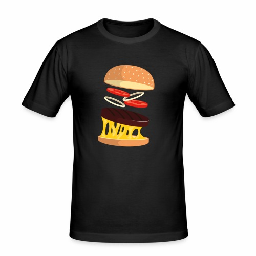 Hamburger Men - Men's Slim Fit T-Shirt