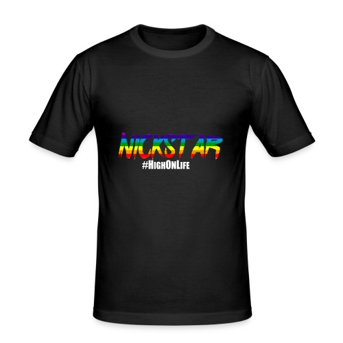 High On Life-Swater - Men's Slim Fit T-Shirt