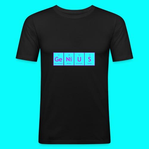 GENIUS T-SHIRT UNISEX - Slim Fit T-shirt herr