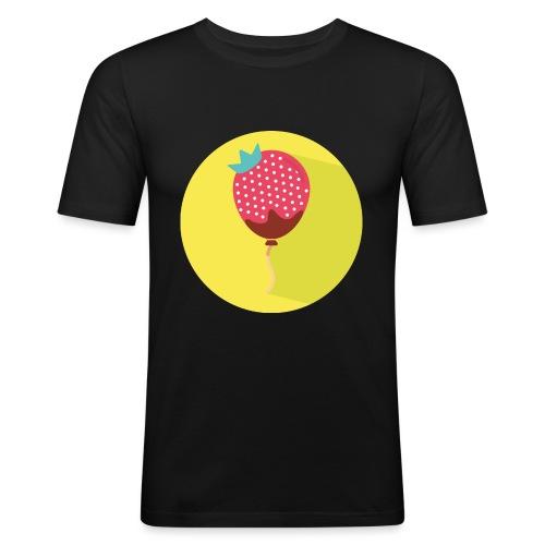 Palloncino // Strawberry - Maglietta aderente da uomo