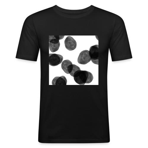 Black clouds - Men's Slim Fit T-Shirt