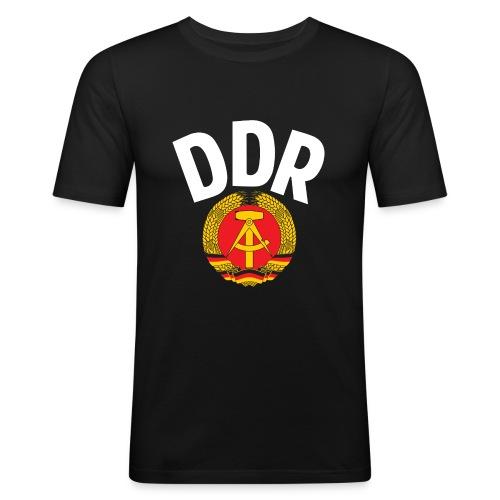 DDR - German Democratic Republic - Est Germany - Men's Slim Fit T-Shirt