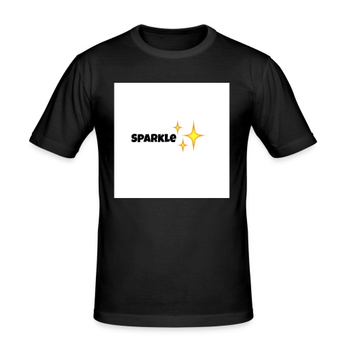 sparkle - Mannen slim fit T-shirt