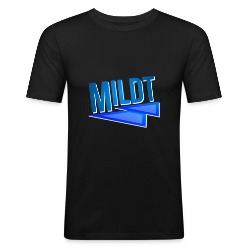 MILDT Normale Kids Shirt - Mannen slim fit T-shirt