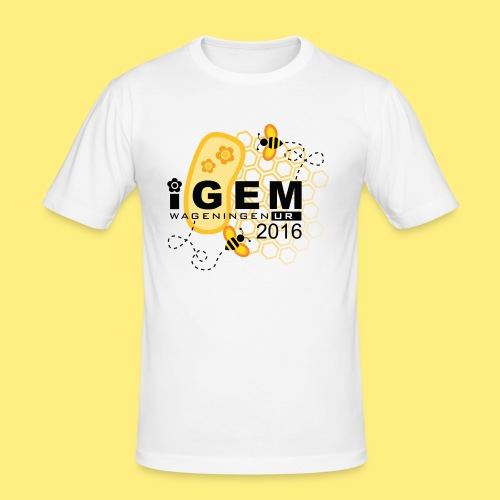 Logo - shirt men - Mannen slim fit T-shirt