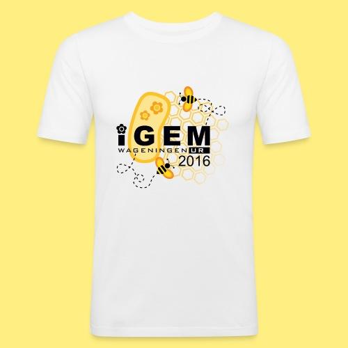 Logo - mug - Mannen slim fit T-shirt