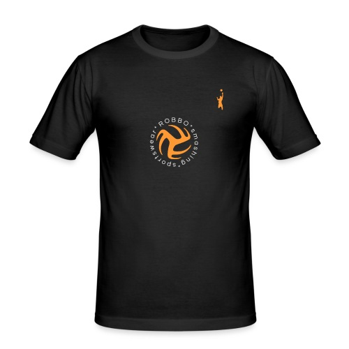 ROBBO SHIRT master VOLLEY PLUS ICON - Men's Slim Fit T-Shirt