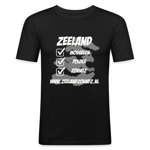 Mosselen - Polder - ZoundZ #girlZ edition - Mannen slim fit T-shirt