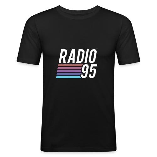 Il serbatoio superiore (Canotta) di Radio95! - Maglietta aderente da uomo