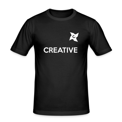 Creative long urban shirt - Herre Slim Fit T-Shirt