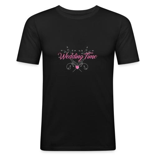 Wedding Time - Maglietta aderente da uomo