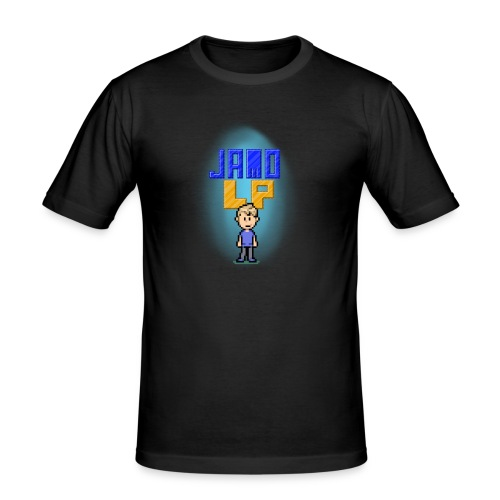 Pixel Jamo - Herre Slim Fit T-Shirt