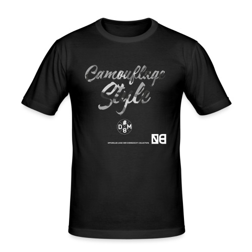 Domezockt-Camouflage - Männer Slim Fit T-Shirt