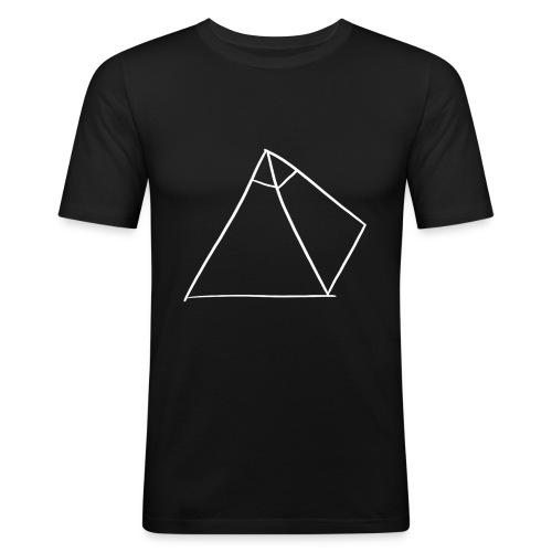Casquette avec logo (Noir) - T-shirt près du corps Homme