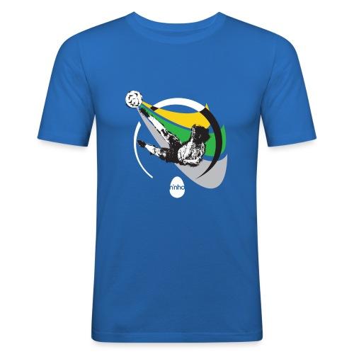 Ninho Over Footbal - Maglietta aderente da uomo
