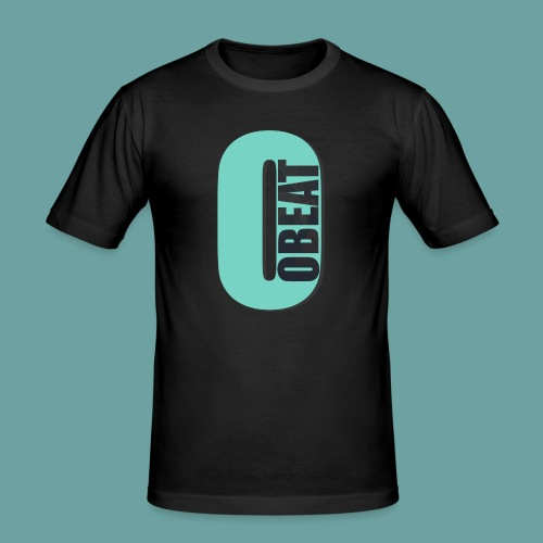 OBeat Logo O - Mannen slim fit T-shirt