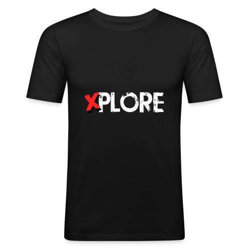 Xplore - Lost Places Exploring - Männer Slim Fit T-Shirt