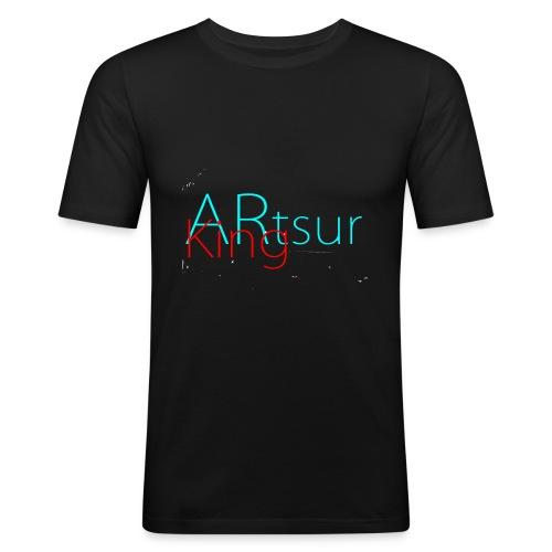 ARtsurKing Logo - Men's Slim Fit T-Shirt