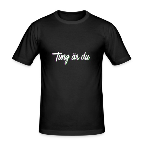 tung--ru - Slim Fit T-shirt herr