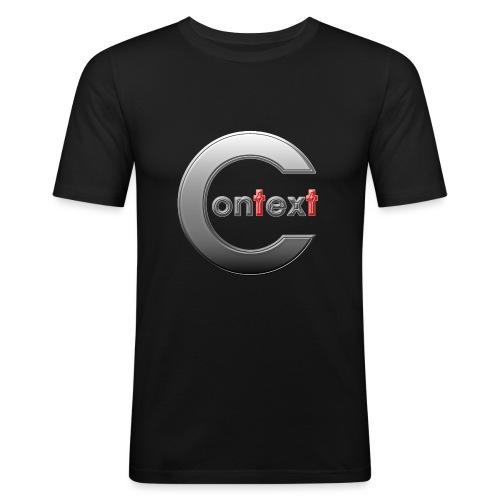 Context silver - Slim Fit T-shirt herr