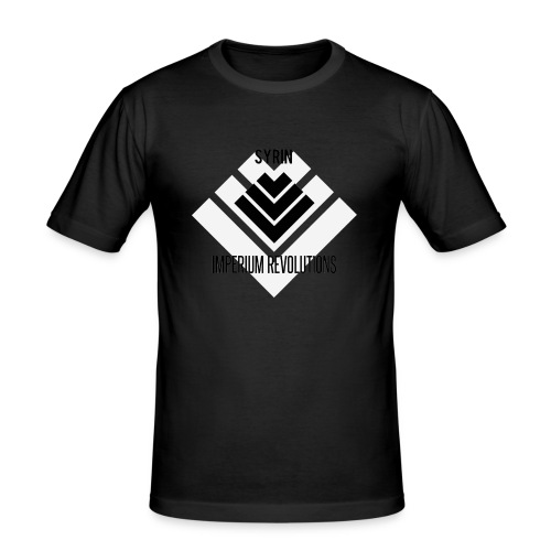 Imperium Revolutions Syrin White - Mannen slim fit T-shirt