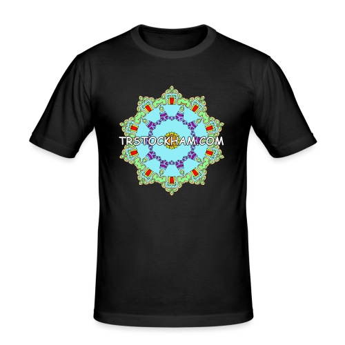 Enjoyably Quirky Colouring Book Design 9 - Men's Slim Fit T-Shirt