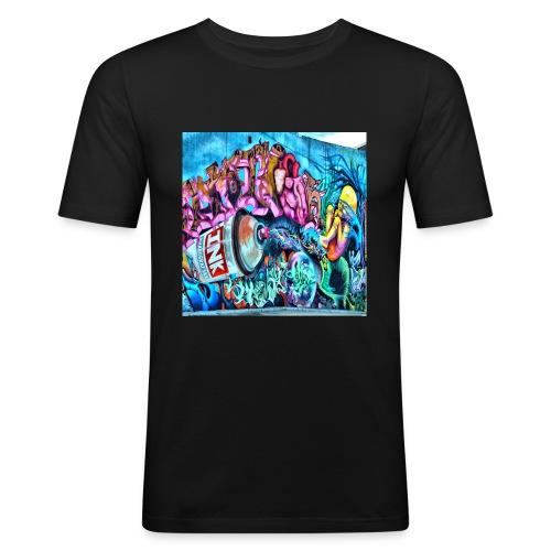 arte urbano - Camiseta ajustada hombre