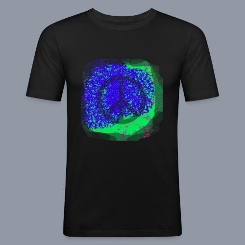 Spray Peace - Männer Slim Fit T-Shirt