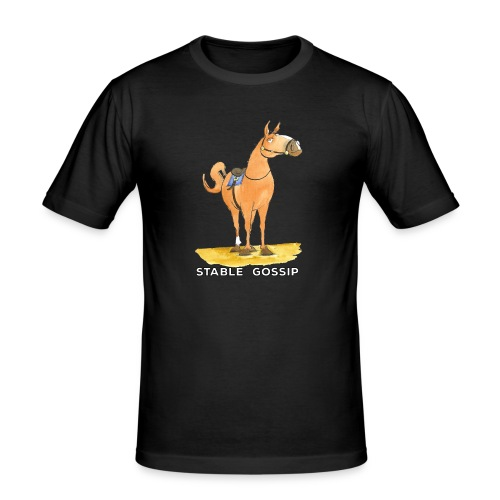 Stable Gossip by Joanna Fisher - Men's Slim Fit T-Shirt