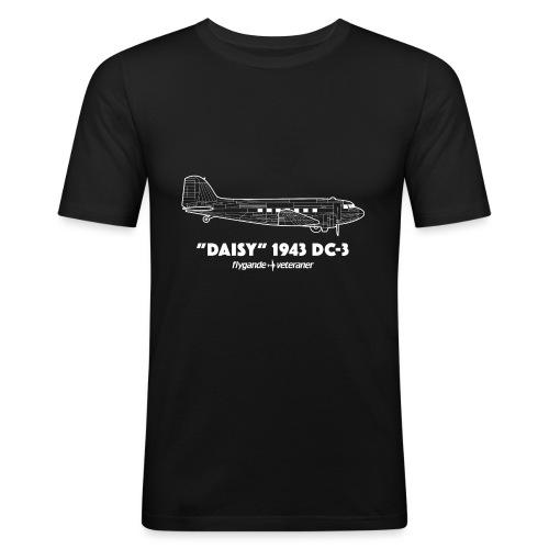 Daisy Blueprint Side 2 - Slim Fit T-shirt herr