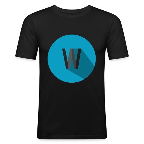 Weekiewee logo - Men's Slim Fit T-Shirt