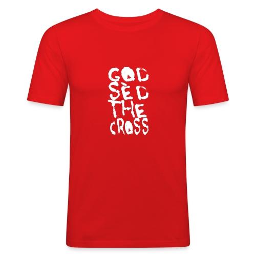 GodSèd The Cross - T-shirt près du corps Homme
