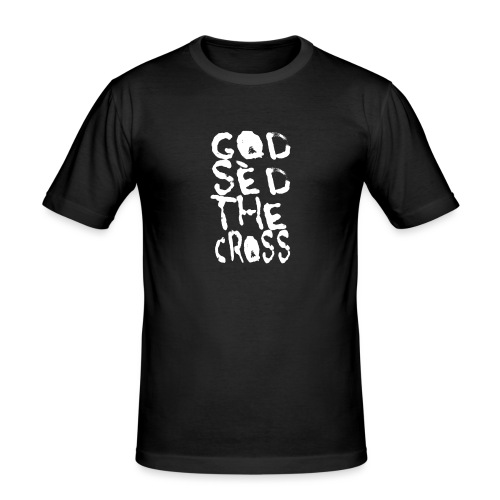 GodSèd The Cross - T-shirt près du corps Homme