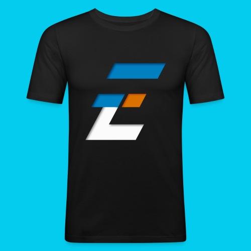 Electronic-series - T-shirt près du corps Homme