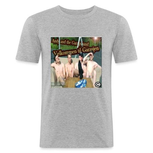 Velkommen Til Garasjen - Slim Fit T-skjorte for menn