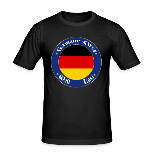 germany first - Men's Slim Fit T-Shirt