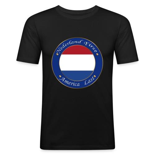 Nederland - Men's Slim Fit T-Shirt