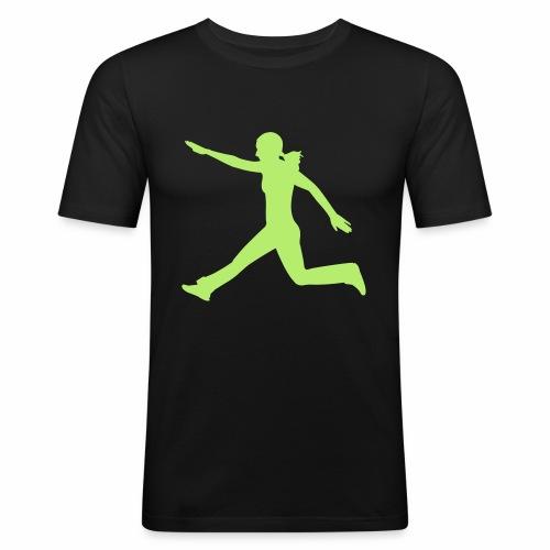 Kraft und Takt - Männer Slim Fit T-Shirt