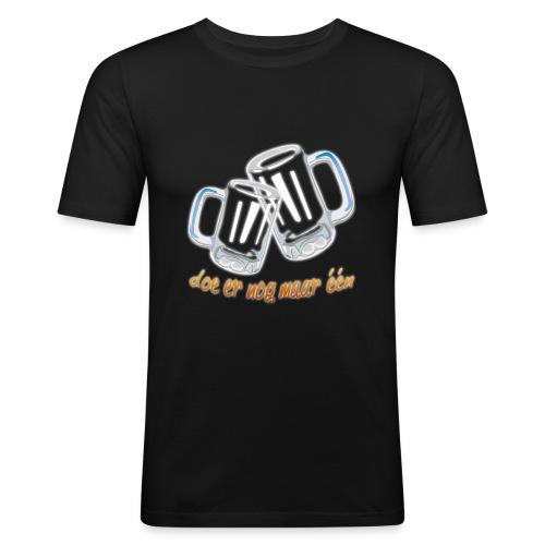Doe er nog maar een Shirt png - Mannen slim fit T-shirt