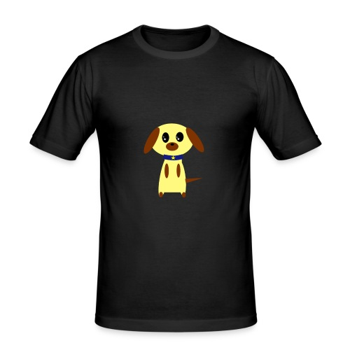 Dog Cute - Männer Slim Fit T-Shirt