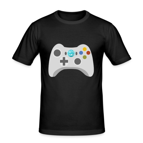 Pause Games Controller Logo - Men's Slim Fit T-Shirt